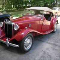 1952 MGTD Roadster